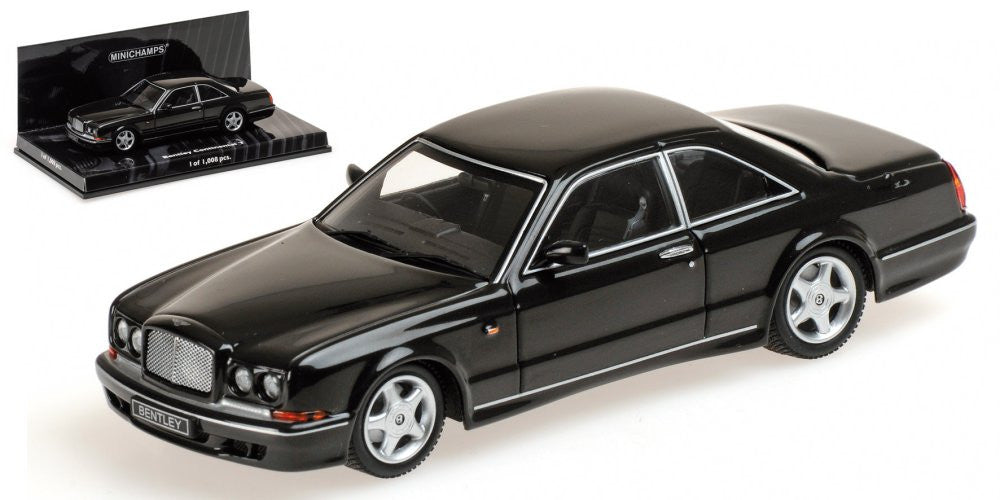 MINICHAMPS 1/43 BENTLEY CONTINENTAL T 1996 BLACK 436139941
