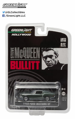 GreenLight 1/64 Bullitt (1968) - 1968 Ford Mustang GT Fastback 44721