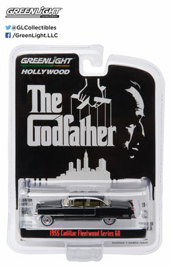 GreenLight 1/64 Hollywood - The Godfather (1972) - 1955 Cadillac Fleetwood Series 60 Special 44740-B