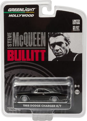 GreenLight 1/64 Bullitt (1968) - 1968 Dodge Charger R/T Diecast Model Car 44741
