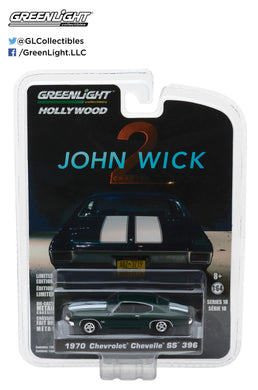 GreenLight 1/64 Hollywood Series 18 - John Wick: Chapter 2 (2017) - 1970 Chevrolet Chevelle SS 396 44780-F