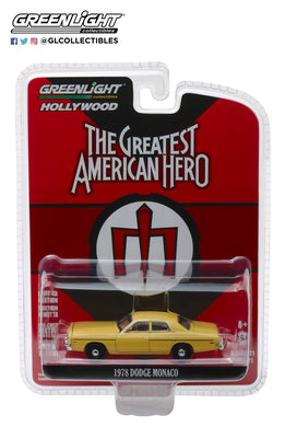 GreenLight 1/64 Hollywood Series 21 - The Greatest American Hero (1981-83 TV Series) - 1978 Dodge Monaco 44810-A