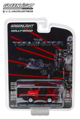 GreenLight 1/64 Hollywood Series 21 - The Terminator (1984) - Sarah Connor s 1983 Jeep CJ-7 Renegade 44810-B