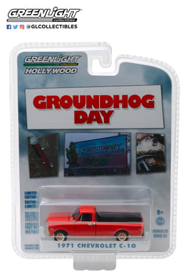 GreenLight 1/64 Hollywood Series 21 - Groundhog Day (1993) - 1971 Chevrolet C-10 44810-C