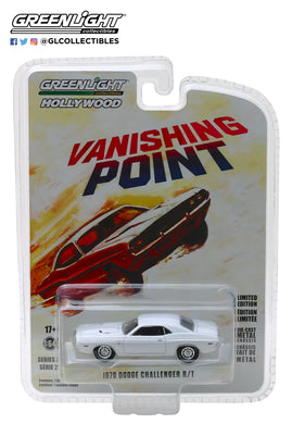 GreenLight 1/64 Hollywood Series 22 - Vanishing Point (1971) - 1970 Dodge Challenger R/T 44820-A