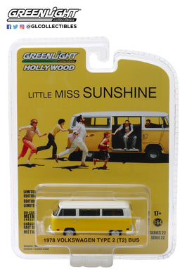 GreenLight 1/64 Hollywood Series 22 - Little Miss Sunshine (2006) - 1978 Volkswagen Type 2 Bus 44820-C