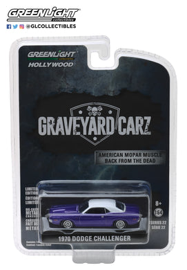 GreenLight 1/64 Hollywood Series 22 - Graveyard Carz (2012-Current TV Series) - 1970 Dodge Challenger R/T (Season 5 -