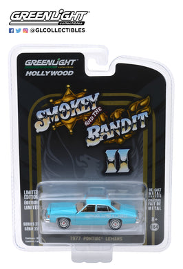 GreenLight 1/64 Hollywood Series 23 - Smokey and The Bandit II (1980) - 1977 Pontiac LeMans Wedding Car 44830-B