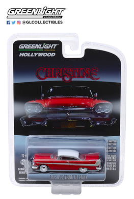 GreenLight 1/64 Hollywood Series 23 - Christine (1983) - 1958 Plymouth Fury 44830-C