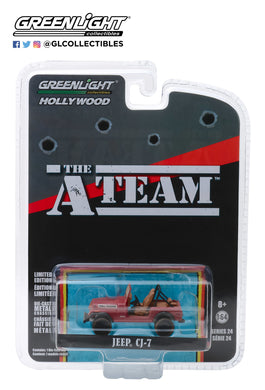 GreenLight 1/64 Hollywood Series 24 - The A-Team (1983-87 TV Series) - Jeep CJ-7 44840-C