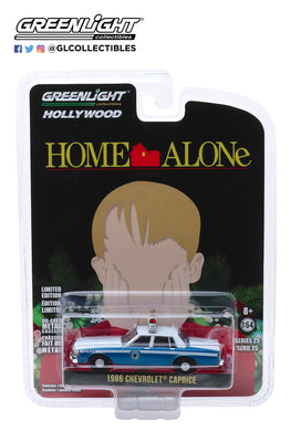 GreenLight 1:64 Hollywood Series 25 - Home Alone (1990) - 1986 Chevrolet Caprice Wilmette, Illinois Police 44850-E