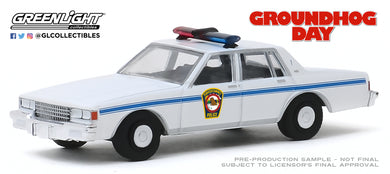 GreenLight 1:64 Hollywood Series 26 - Groundhog Day (1993) - 1980 Chevrolet Caprice Police 44860-C