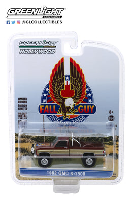 GreenLight 1:64 Hollywood Series 26 - Fall Guy Stuntman Association - 1982 GMC K-2500 44860-F