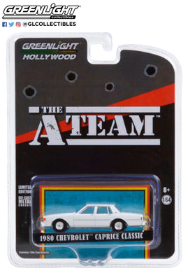 GreenLight 1:64 Hollywood Special Edition - The A-Team (1983-87 TV Series) - 1980 Chevrolet Caprice Classic 44865-C