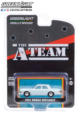 GreenLight 1:64 Hollywood Special Edition - The A-Team (1983-87 TV Series) - 1981 Dodge Diplomat 44865-D