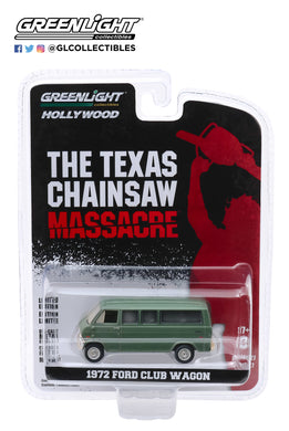 GreenLight 1:64 Hollywood Series 27 - The Texas Chain Saw Massacre (1974) - 1972 Ford Club Wagon 44870-A