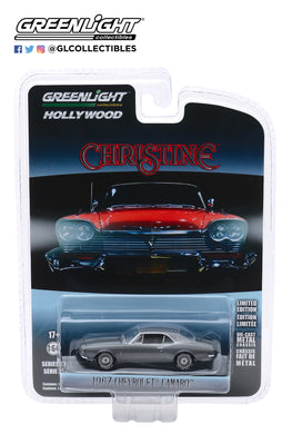 GreenLight 1:64 Hollywood Series 27 - Christine (1983) - Buddy Repperton s 1967 Chevrolet Camaro 44870-C