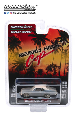 GreenLight 1:64 Hollywood Series 27 - Beverly Hills Cop (1984) - 1970 Chevrolet Nova 44870-D