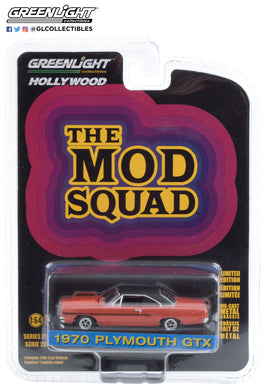 GreenLight 1:64 Hollywood Series 29 - The Mod Squad (1968-73 TV Series) - 1970 Plymouth GTX 44890-A