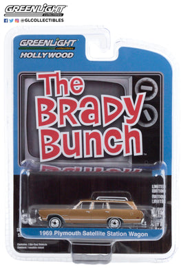 GreenLight 1:64 Hollywood Series 29 - The Brady Bunch (1969-74 TV Series) - Carol Brady s 1969 Plymouth Satellite Station Wagon 44890-B