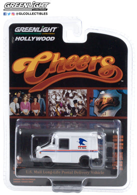 GreenLight 1:64 Hollywood Series 29 - Cheers (1982-93 TV Series) - Cliff Clavin s U.S. Mail Long-Life Postal Delivery Vehicle (LLV) 44890-D