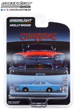 GreenLight 1:64 Hollywood Series 30 - Christine (1983) - Detective Rudolph Junkins 1977 Plymouth Fury 44900-B