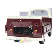 Schuco 1/18 Volkswagen T2A Platform truck with Soap Boxes white / red / blue 450018200