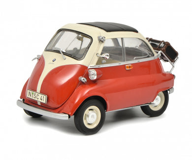 Schuco 1/18 BMW Isetta Export red/beige 450041000