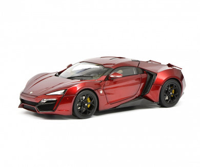 Schuco 1:18 W Motor Fenyr Supersport after Lykan red 450042500
