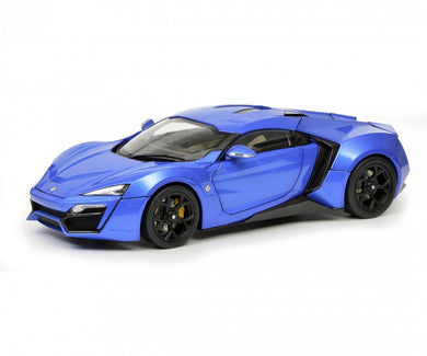 Schuco 1/18 W Motor Fenyr Supersport after Lykan blue 450042600