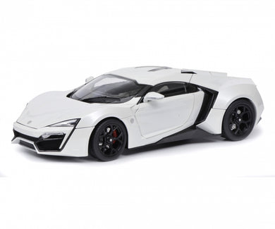 Schuco 1/18 W Motor Fenyr Supersport after Lykan white 450042800