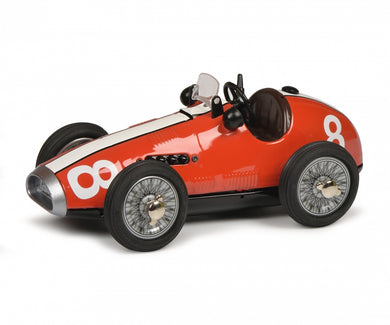 Schuco Grand Prix Racer Ferrari #8 red Clockwork car 450108500