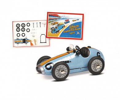 Schuco Grand Prix Racer Ferrari #6 construction kit Blue Clockwork car 450109200