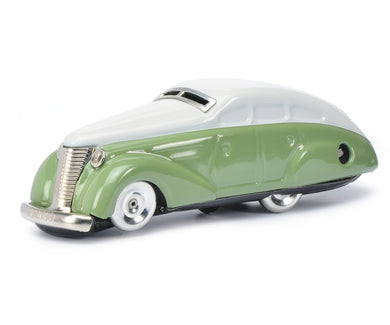 Schuco Turning Car 1010 Clockwork grey-green 450112500