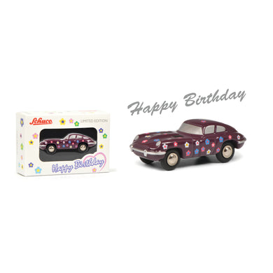 Schuco 1:90 Piccolo Jaguar E-Type Coupe Happy Birthday 2020 450168200