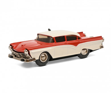 Schuco Micro Racer Ford Fairlane red beige clockwork car 450175900