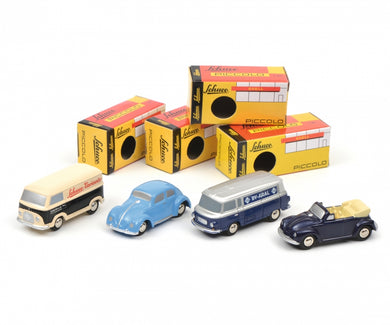 Schuco 1/90 Piccolo gift set B Ford FK 1000/Volkswagen Beetle/Barkas B1000 450185600