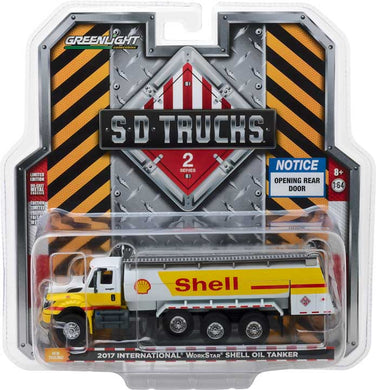 GreenLight 1/64 S.D. Trucks Series 2 - 2017 International WorkStar Tanker Truck - Shell Oil 45020-C