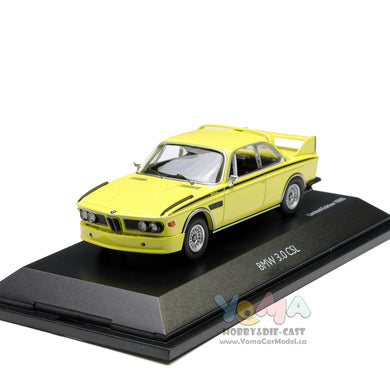 Schuco 1/43 BMW 3.0 CSL Yellow 450219000