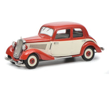 Schuco 1:43 Mercedes-Benz 170 V Limousine red white Limited 750 450247000