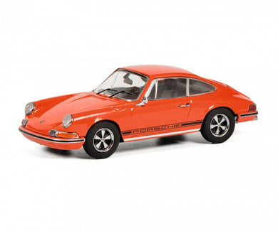 Schuco 1:43 Porsche 911 S Coupe 1971 orange 450270700