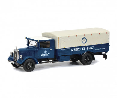 Schuco 1:43 Mercedes-Benz Lo 2750 Racing department transport vehicle Limited 750 450310500