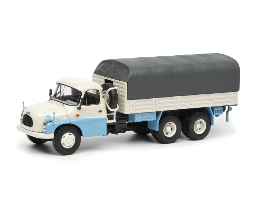Schuco 1:43 Tatra T138 pick-up with tarpaulin Limited 500 450375000