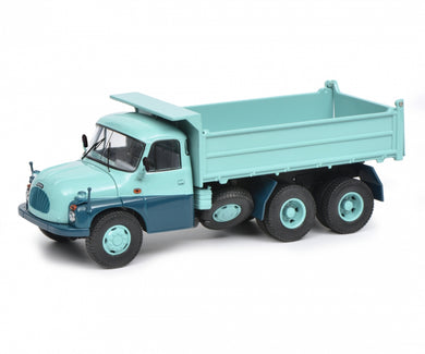 Schuco 1:43 Tatra T138 dump Truck turquoise blue Limited 750 450375500