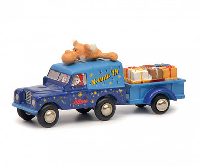 Schuco 1:90 Piccolo Land Rover with trailer Christmas Edition 2019 Limited 750 450502800