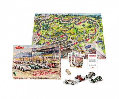 Schuco Mercedes Benz 4 cars set Nurburgring race board game 450513700