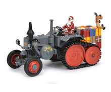 Schuco 1/32 Lanz tractor with caterpillar Christmas Time 450770300