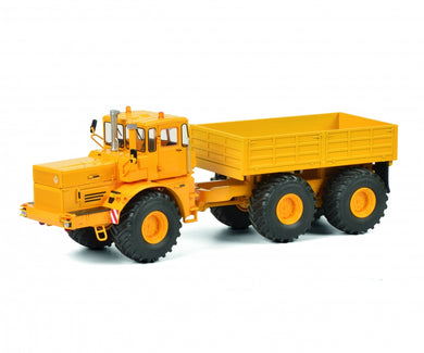 Schuco 1:32 Kirovets K-700 T all wheel drive tractor yellow 450770800