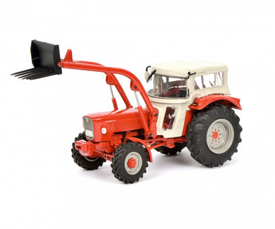 Schuco 1/32 Guldner G60A with roof and front loader Tractor 450778600