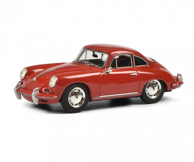 Schuco 1:43 Porsche 356 SC Coupe 1961-1963 red 450879400